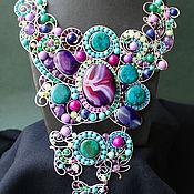 Украшения handmade. Livemaster - original item Necklace Titania (variant in silver metal). Handmade.