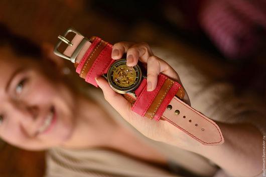 Часы ручной работы. Ярмарка Мастеров - ручная работа. Купить Женские наручные часы Belts Wild. Handmade. Часы наручные