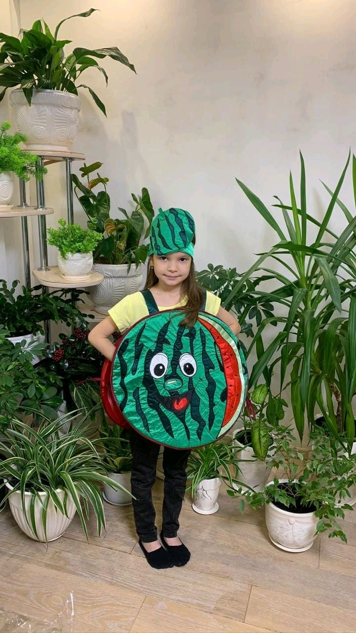Funny Watermelon Costume, Carnival costumes for children, Moscow,  Фото №1