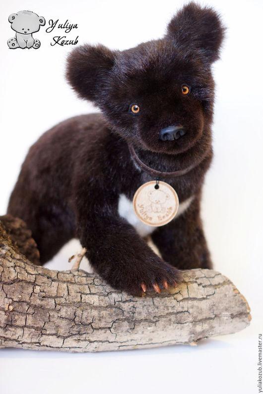 Мишки Тедди ручной работы. Ярмарка Мастеров - ручная работа. Купить Гималайский медвежонок. Handmade. Черный, мех искусственный