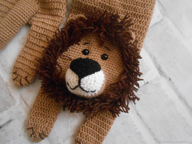 Scarf lion mens womens kids, Scarves, Cherepovets,  Фото №1
