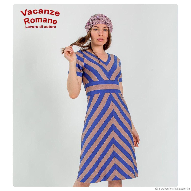 Dresses handmade. Livemaster - handmade. Buy Dress VR-1417.Dress, strips