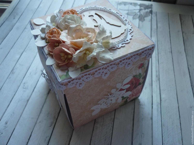 Свадебные коробочки для подарка 59