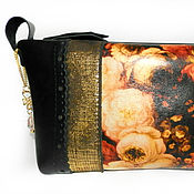 Beauticians handmade. Livemaster - original item Large cosmetic bag