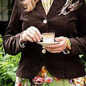 Одежда ручной работы. Ярмарка Мастеров - ручная работа Вельветовый пиджак. Handmade.
