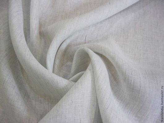 Шитье ручной работы. Ярмарка Мастеров - ручная работа. Купить Итальянский лен 56038. Handmade. Белый, лен для рукоделия, лён