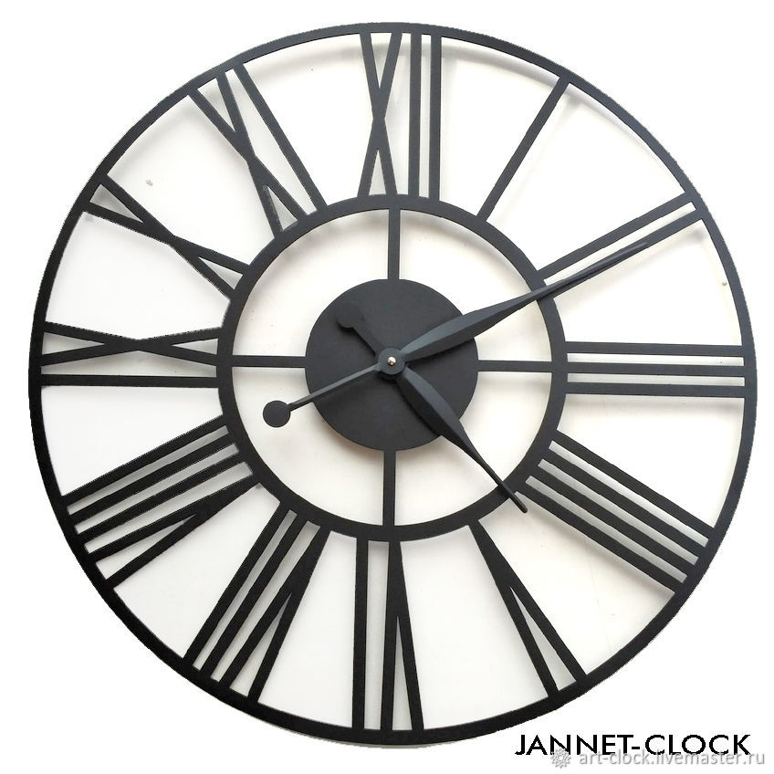 Large wall clock 'Dial' 60 cm, metal, Watch, Samara,  Фото №1