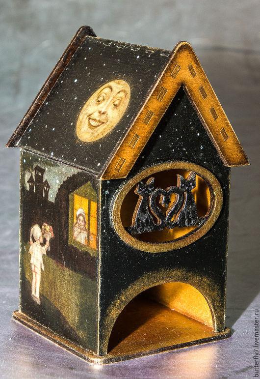"""Кухня ручной работы. Ярмарка Мастеров - ручная работа. Купить Чайный домик """"Ночная романтика. Чаепитие под луной"""".. Handmade."""