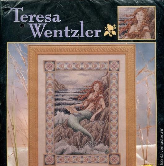 Вышивка ручной работы. Ярмарка Мастеров - ручная работа. Купить Teresa Wentzler (США) Набор для вышивания LAR-113865,. Handmade.