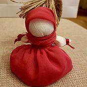 Куклы и игрушки ручной работы. Ярмарка Мастеров - ручная работа Куколка-оберег на счастье. Handmade.