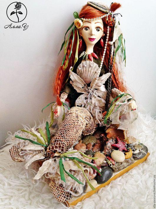 Коллекционные куклы ручной работы. Ярмарка Мастеров - ручная работа. Купить Русалочка. Handmade. Комбинированный, авторская кукла, Ладолл