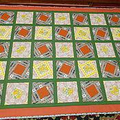 """Для дома и интерьера ручной работы. Ярмарка Мастеров - ручная работа Лоскутное покрывало """" Даная"""". Handmade."""