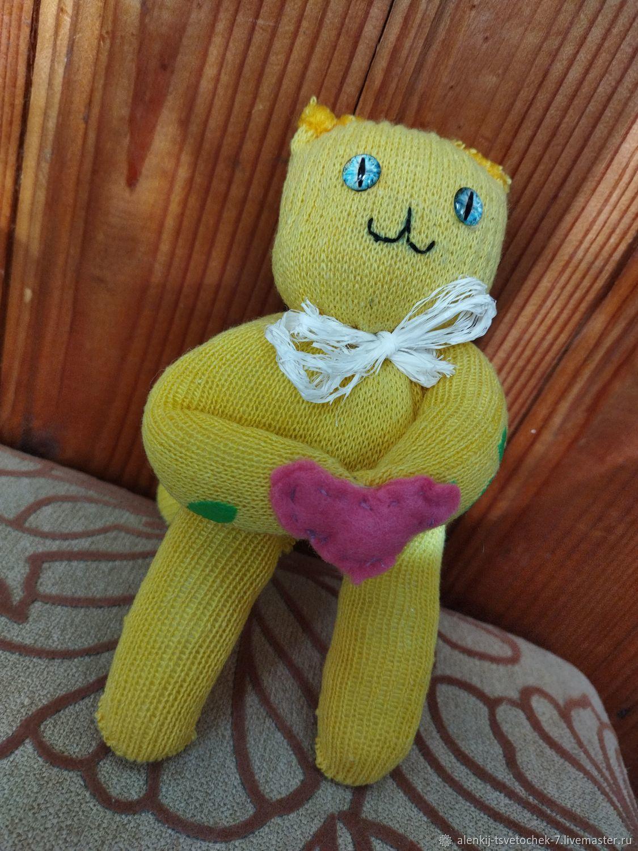 Игрушка котик, Мягкие игрушки, Санкт-Петербург,  Фото №1