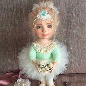 "Dolls handmade. Livemaster - original item Авторская кукла-""Балерина"". Handmade."