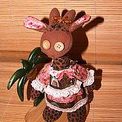 Куклы и игрушки handmade. Livemaster - original item Coffee giraffe