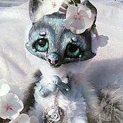 Куклы и игрушки ручной работы. Ярмарка Мастеров - ручная работа Лисенок продан. Handmade.