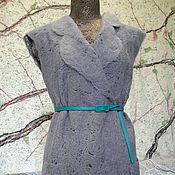 """Одежда ручной работы. Ярмарка Мастеров - ручная работа Яга жилет """"Тёмное облако"""". Handmade."""