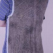 Одежда ручной работы. Ярмарка Мастеров - ручная работа Наспинник  из  собачьего пуха. Handmade.