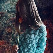 """Одежда ручной работы. Ярмарка Мастеров - ручная работа Женский свитер """"Мисс воздушность"""". Handmade."""