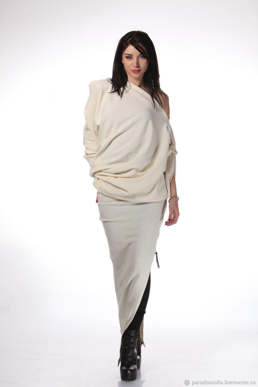 0d052d3dd28f Платья ручной работы. Ярмарка Мастеров - ручная работа. Купить  Экстравагантная ассиметричная платье туника ...
