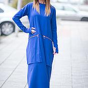 Одежда handmade. Livemaster - original item Dress, Long dress, cotton Dress, EUG. Handmade.