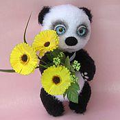 Куклы и игрушки handmade. Livemaster - original item Teddy bear Panda UMI knitted toy. Handmade.