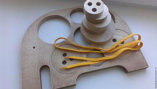 Развивающие игрушки ручной работы. Ярмарка Мастеров - ручная работа. Купить Развивающая игрушка для самых маленьких. Вкладыши для слоника.. Handmade.