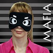 Куклы и игрушки handmade. Livemaster - original item Card game: The mask of the Mafia game. Mask Mafia.. Handmade.