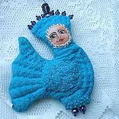 """Куклы и игрушки ручной работы. Ярмарка Мастеров - ручная работа Игрушка-подвеска """"Птица счастья"""". Handmade."""