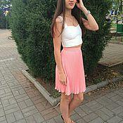 Одежда ручной работы. Ярмарка Мастеров - ручная работа Гофрированная юбка. Handmade.