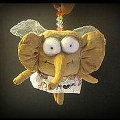 Куклы и игрушки ручной работы. Ярмарка Мастеров - ручная работа Слономуха. Handmade.