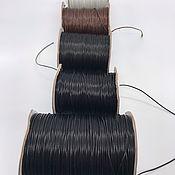 Шнуры ручной работы. Ярмарка Мастеров - ручная работа Шнур вощеный корейский синтетический. Handmade.