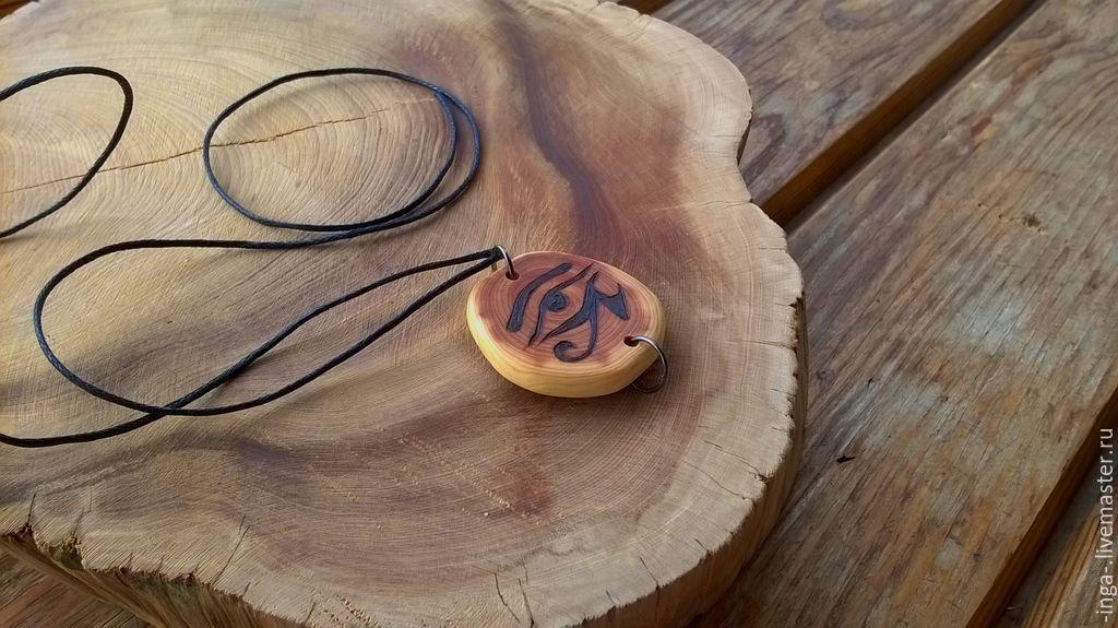 Juniper pendant ' Eye of the mountain', Pendants, Tyumen,  Фото №1