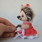 Куклы и игрушки ручной работы. Ярмарка Мастеров - ручная работа Ежишка Дашенька. Handmade.