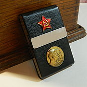 Сувениры и подарки handmade. Livemaster - original item Cigarette case with the USSR award