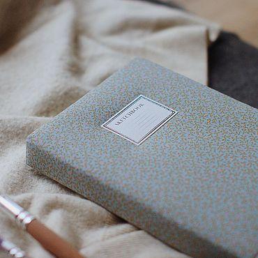 Stationery handmade. Livemaster - original item Notebook with cloth cover / A5 / Sketchbook. Handmade.