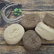 Материалы для творчества handmade. Livemaster - original item Woolen yarn for handwork. Handmade.