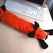 Сувениры и подарки handmade. Livemaster - original item The pillow under the keyboard Happy Fox cushion under the hand of the Fox. Handmade.
