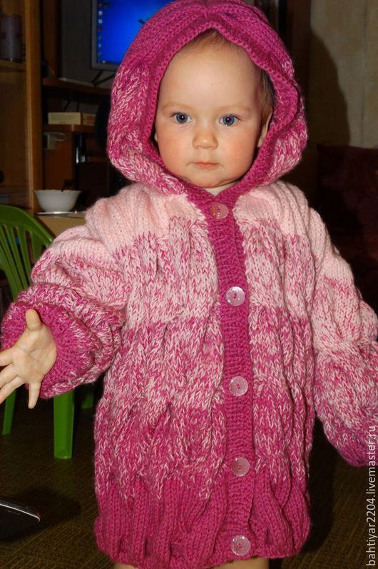 Кофты и свитера ручной работы. Ярмарка Мастеров - ручная работа. Купить Детский кардиган с капюшоном в стиле Лало. Handmade. Комбинированный