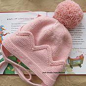 Работы для детей, ручной работы. Ярмарка Мастеров - ручная работа Шапка принцессы, шапка с короной, шапка для девочки. Handmade.