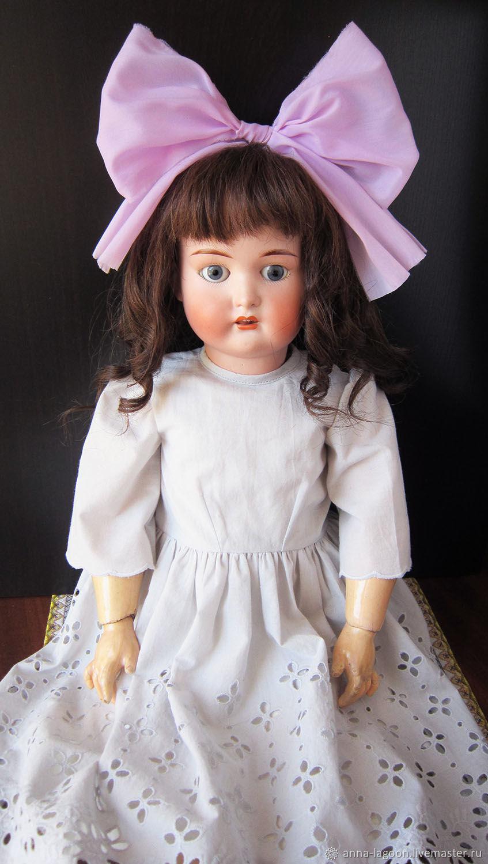 Антикварная кукла неизвестного производителя, Куклы и пупсы, Ижевск,  Фото №1