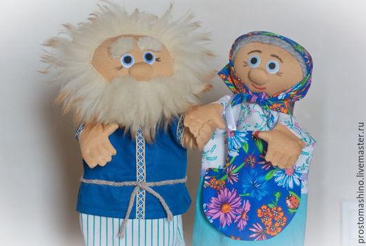 Кукольный театр ручной работы. Ярмарка Мастеров - ручная работа. Купить Курочка Ряба. Handmade. Комбинированный, перчаточная кукла