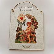 """Картины и панно ручной работы. Ярмарка Мастеров - ручная работа Панно """" Tо my love """" от FLAUNDER DECOR. Handmade."""