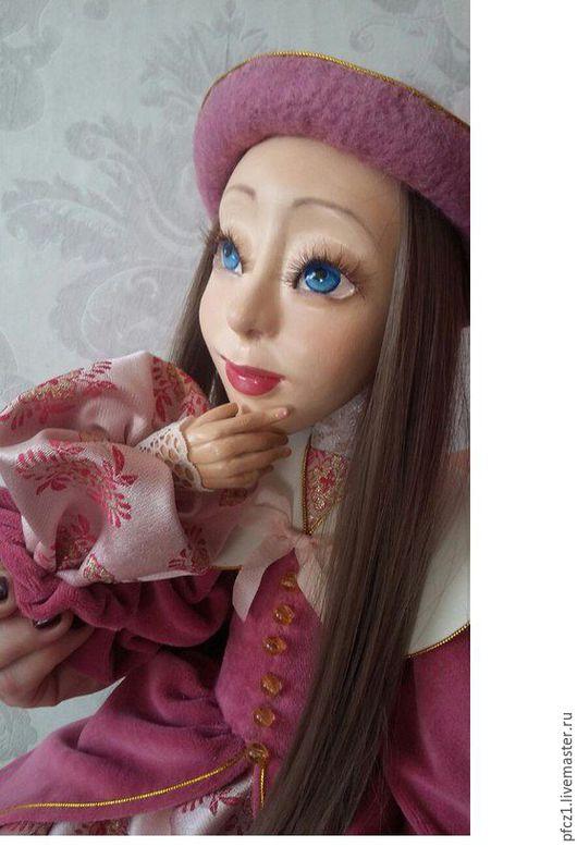 Коллекционные куклы ручной работы. Ярмарка Мастеров - ручная работа. Купить Будуарная кукла Даша. Handmade. Розовый, кукла