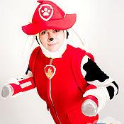 Одежда handmade. Livemaster - original item Costume for animator Dog Fireman. Handmade.