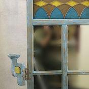 Для дома и интерьера ручной работы. Ярмарка Мастеров - ручная работа Зеркало-окно `Теплый вечер` винтажное. Handmade.