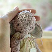 Куклы и игрушки ручной работы. Ярмарка Мастеров - ручная работа Друзья тедди. Слоник Ася. Handmade.