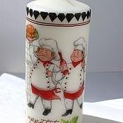 Candles handmade. Livemaster - original item Venice handmade candle by Povarotti. Handmade.