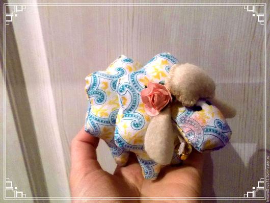 Игрушки животные, ручной работы. Ярмарка Мастеров - ручная работа. Купить Игрушка текстильная овечки Тильда. Handmade. Голубой