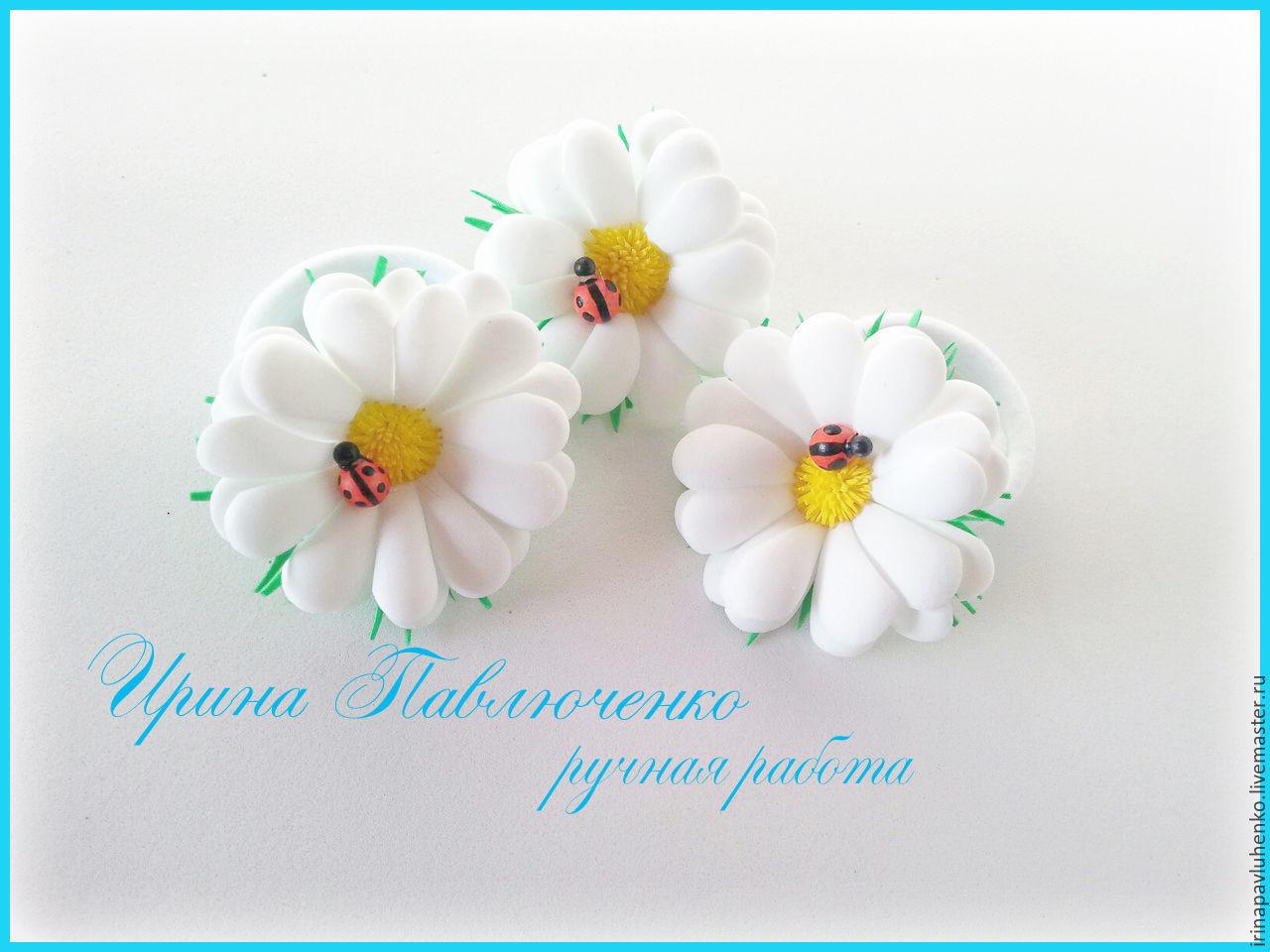Украшения, цветы, веночки, заколки из фоамирана